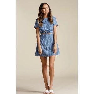 Lucca Couture Kennedi Star dress Blue Size Medium